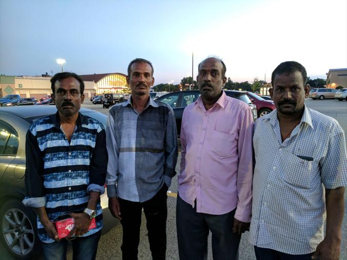 Four workers from India who were working at a temple in Toronto